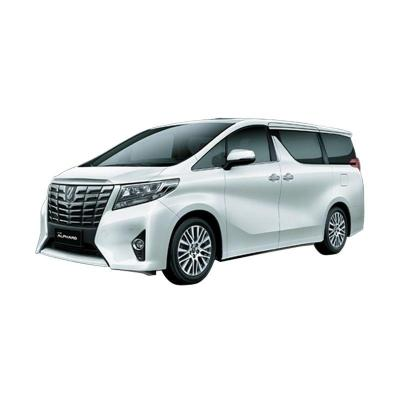 Toyota Alphard 2.5 G A/T White Pearl MM Mobil
