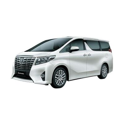 Toyota Alphard 2.5 X A/T Luxury White Pearl Mobil