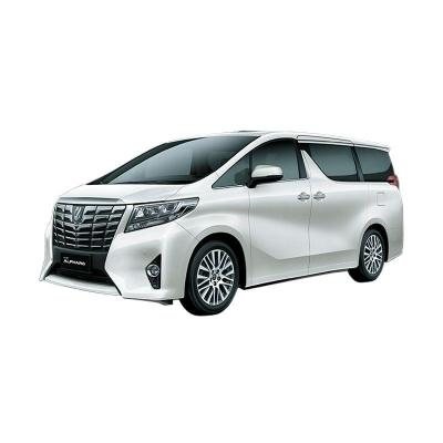 Toyota Alphard 3.5 Q A/T Luxury White Pearl Mobil