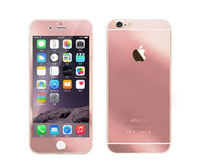 1 Price Tempered Glass Mirror Rose Gold Screen Protector for iPhone 5 or 5s