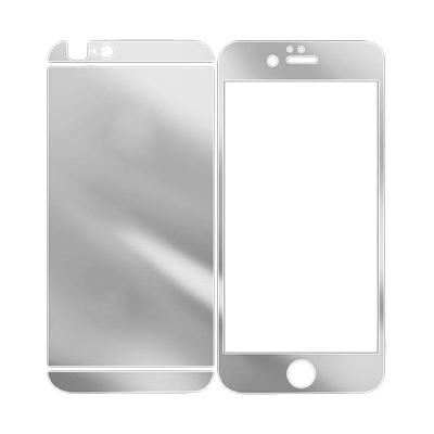 1 Price The Kingtech Mirror 2 in 1 Silver Tempered Glass for iPhone 6 Plus