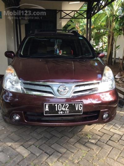 2012 Nissan Grand Livina 1.5 XV Manual Transmision