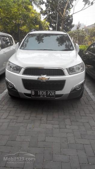 Harga 2013 Chevrolet Captiva Diesel 7 Seater 2 0 Pearl White