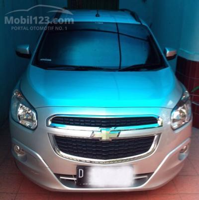 Harga 2013 Chevrolet Spin 15 Ltz Premium Triptonic Warna Silver