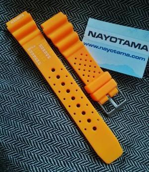 Harga 20mm ND Limits Orange - Tali Jam Tangan Karer Rubber Strap ...