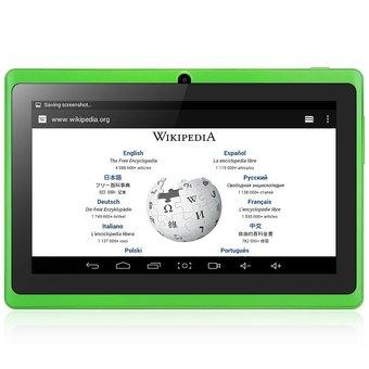 AOSD Q88S Android 4.4 Tablet PC ATM7021 Dual Core 1.3GHz (Black/ Green)