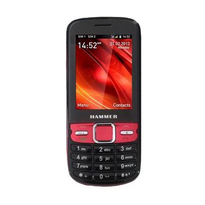Advan Hammer C1 Dual SIM Hitam Handphone [GSM/CDMA]