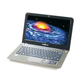 "Advan P3N -51125-Intel Atom D510-1GB DDR2-13""-Hitam"