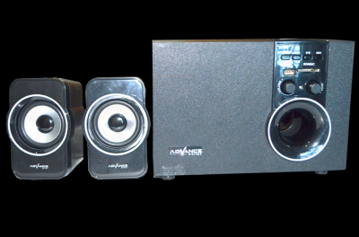 Advance Speaker Bluetooth Subwoofer System M180BT - Hitam
