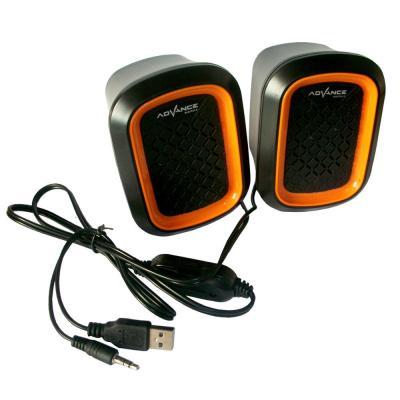 Advance Speaker USB Duo-050 - Orange