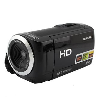 Amango Digital Video Camcorder 8x ZOOM HD 1080P 16MP (Black)