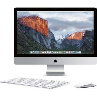 "Apple iMac MK482 Retina 5K Display Late 2015 - 27"" - Intel i5 - 8 GB - 2TB FDD- Silver"