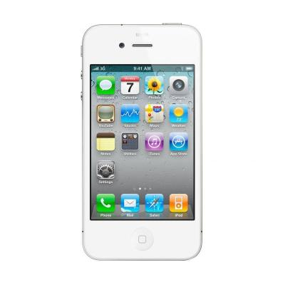 Apple iPhone 4S Putih Smartphone [32GB/Refurbished]