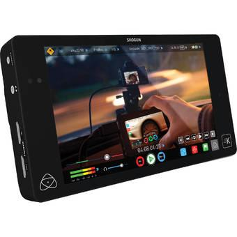 "Atomos Shogun 7"" 4K HDMI and 12G-SDI Monitor & Recorder - Hitam"