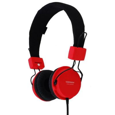 Audio headphones Portable Headset Keenion KOS-3500 Headphone - Merah/Hitam