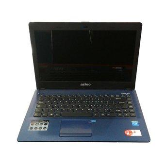 Axioo TNN C825 Celeron Quardcore N2920 Biru + Windows 7starter Original
