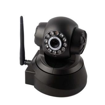 BUYINCOINS Webcam Wireless Pan/Tilt IP Network Camera Audio Night Vision View WIFI Camera