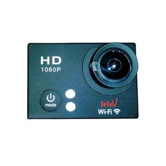 BellaV Action Camera BV-W8ED - 12MP - Hitam