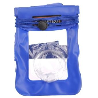 Bingo WP01-03 PVC Coated 20M Waterproof Bag for Digital Camera (Blue) (Intl)