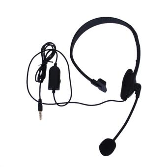 BolehDeals Stereo Headphone with Microphone for Sony PS4 (Black)