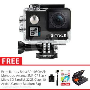 Brica B-PRO 5 Alpha Plus Combo Extreme Action Camera - Black