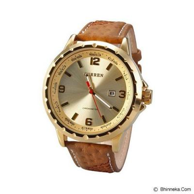 CURREN Casual Style Watch For Men [8120] - Gold