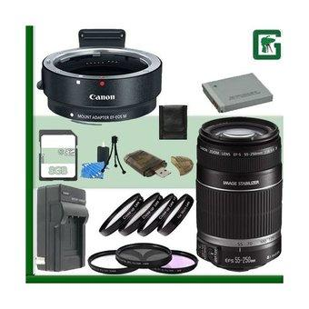 Canon EOS M Fixed focus Lens with lens adapter Kit