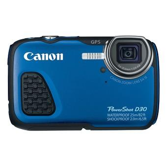 Canon PowerShot D30 12MP Underwater outdoor camera_Blue