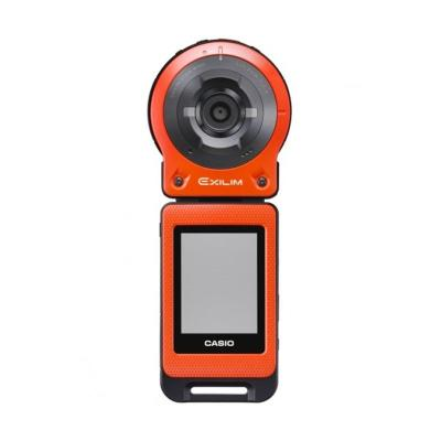 Casio Exilim FR 10 Orange Kamera Pocket + Bonus