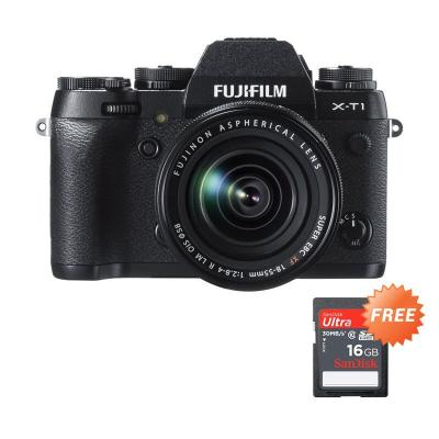 Citibank - Fujifilm X-T1 Kit XF 18-55mm f/2.8-4 R LM OIS Kamera Mirrorless + Memory [16GB]