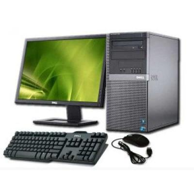 "DELL Optiplex 3020MT 18.5""/i5-4590/4GB/500GB/HD4600/Win7 Pro Desktop - Black Original text"