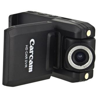DVR Baco Car Camcorder Full HD 720P 2.0 Inch with 140 Degree Wide Angle Lens - P5000 - Hitam