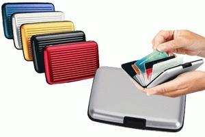 Dompet Aluminium / Dompet Aluma / Card Safe