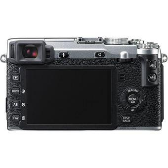 Fujifilm X-E2 16.3 MP Mirrorless Digital Camera Body Silver