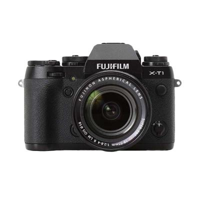 Fujifilm X-T1 with XF18-55mm F2.8-4 R LM OIS Kamera Mirrorless + Memory 16 GB