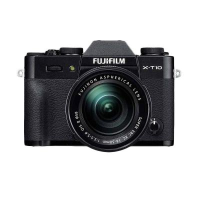Fujifilm X-T10 Kit XC16-50mm f3.5-5.6 OIS Hitam Kamera Mirrorless