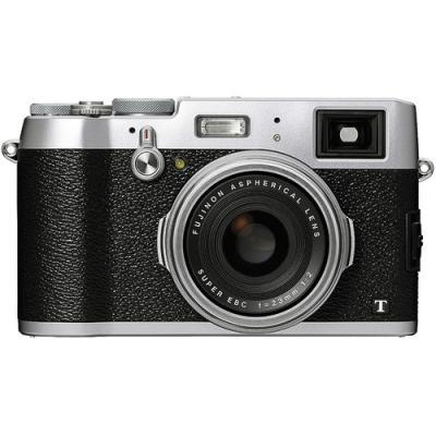Fujifilm X100T Compact Digital Camera (Silver)