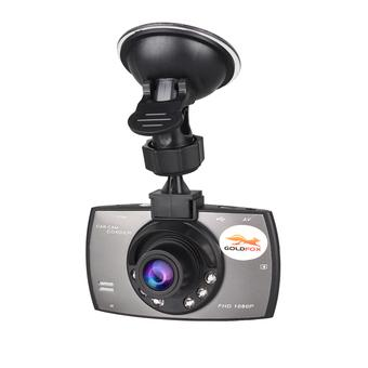 GOLDFOX G30 2.7 Inch LCD 1080P Full HD DVR 170 Degree Wide Angle Lens 5.0MP COMS Car Recorder Camera (Grey) (Intl)