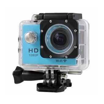 GOLDFOX SJ4000 Waterproof Action Sport DV Digital Video Camera 12MP (Blue) ( Intl)
