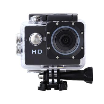 GadgetTech A7 Action Camera Waterproof - Hitam