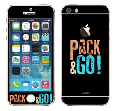 Garskin Pack & Go Skin Protector for iPhone 5