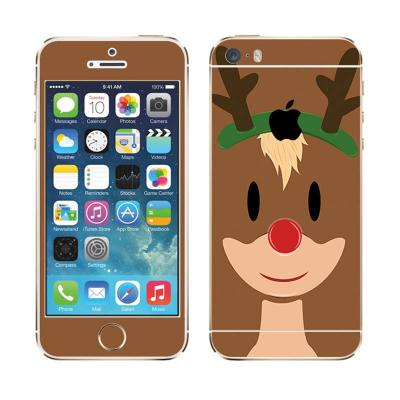 Garskin Rudolph Is Here Skin Protector for iPhone 5s