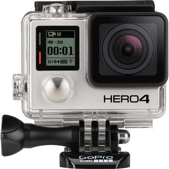 GoPro HERO4 Action Camera 12MP (Black)