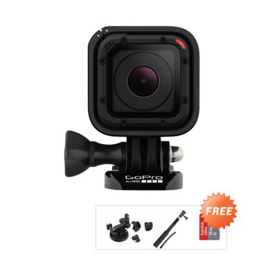 GoPro Hero4 Session Action Cam + Free Ultra 16 + Maeistro Mini Monopod + 3rd Party Suction Cup