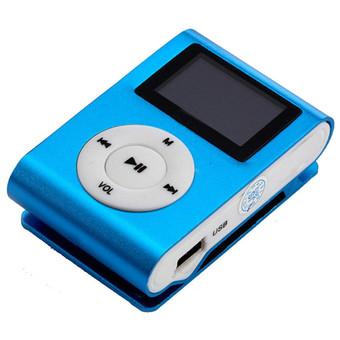GoSport 32GB Micro SD TF Card FM Radio LCD Screen USB Mini Clip MP3 Player (