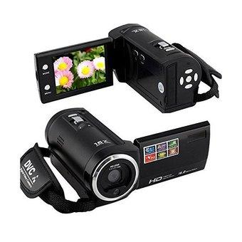 H-DV® 720P 16MP Digital Video Camcorder Camera DV DVR 2.7'' TFT LCD 16x ZOOM ,(Black)