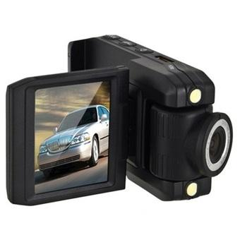 HD DVR Baco Car DVR Camcorder Full HD 720P 2.0 Inch with 140 Degree Wide Angle Lens - P5000 - Hitam
