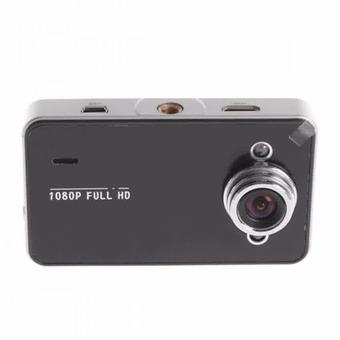 HD DVR Baco Vehicle Black Box Car 2.7 Inch TFT Screen with Wide Angle 140 Degree - K6000 - Hitam