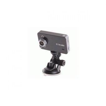 HD DVR Baco Vehicle Black Box Car 2.7 Inch TFT Screen with Wide Angle 140Degree - K6000 - Hitam