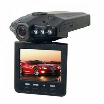 HD DVR Car Recorder 6 IR LED 2.5 Inch TFT Color LCD HD Car DVR Camera - PD-198 - Hitam